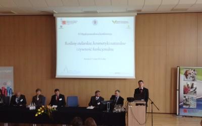 Konferencja w Krośnie – rośliny zielarskie, kosmetyki naturalne oraz żywność funkcjonalna